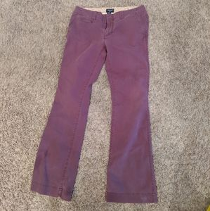American Eagle stretch bootcut pants maroon 6